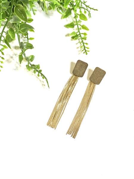 Golden Slither Earrings