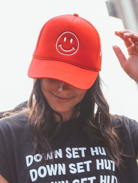 The Smiley Trucker Hat