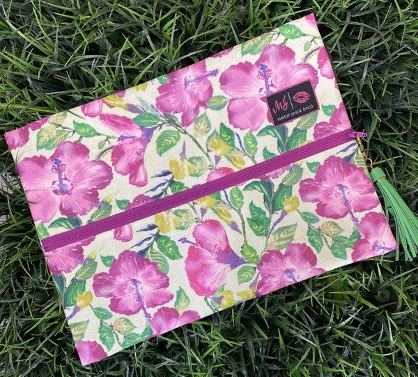 Magenta Floral MJ Bag