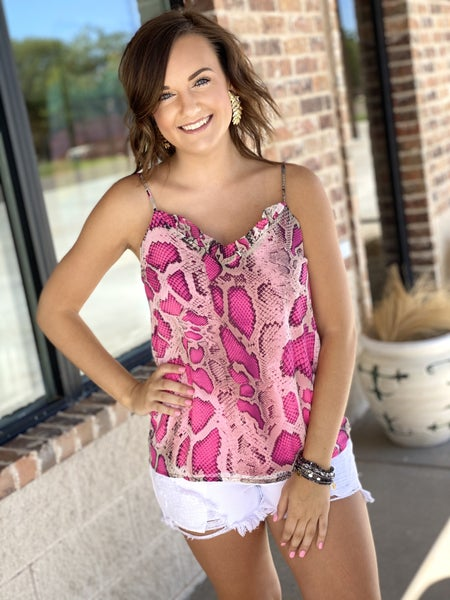 The Pink Snake Tank