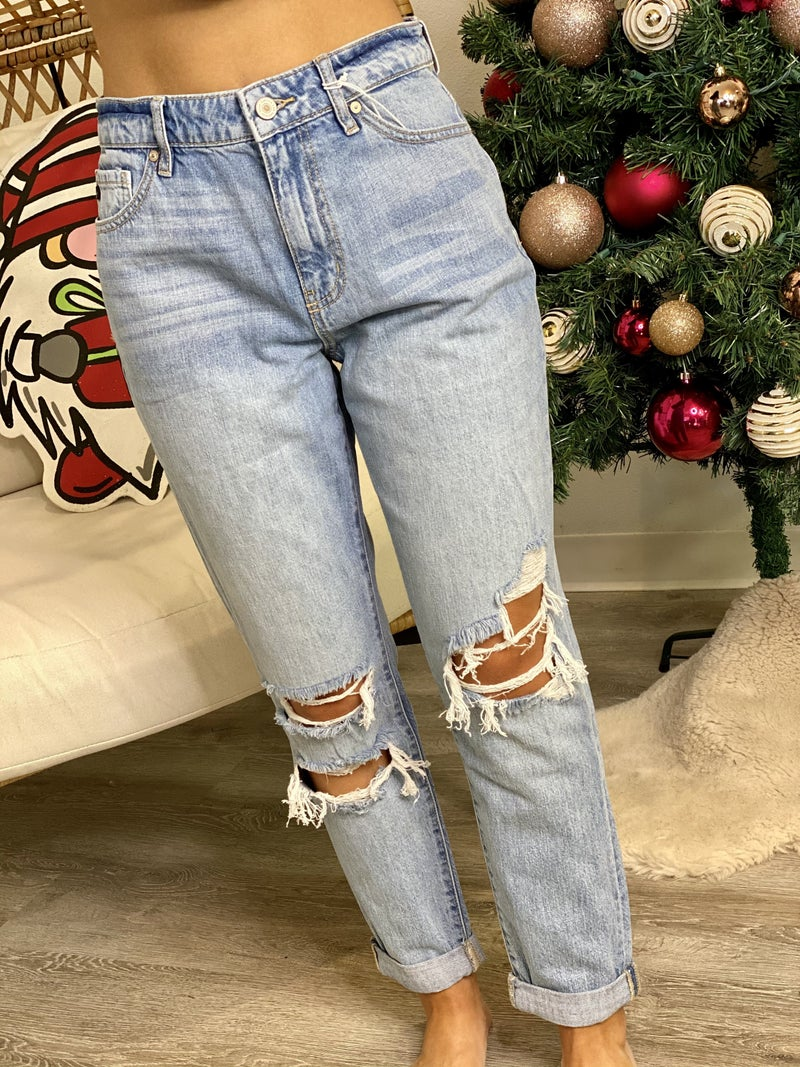 The High Rise Mom Jeans