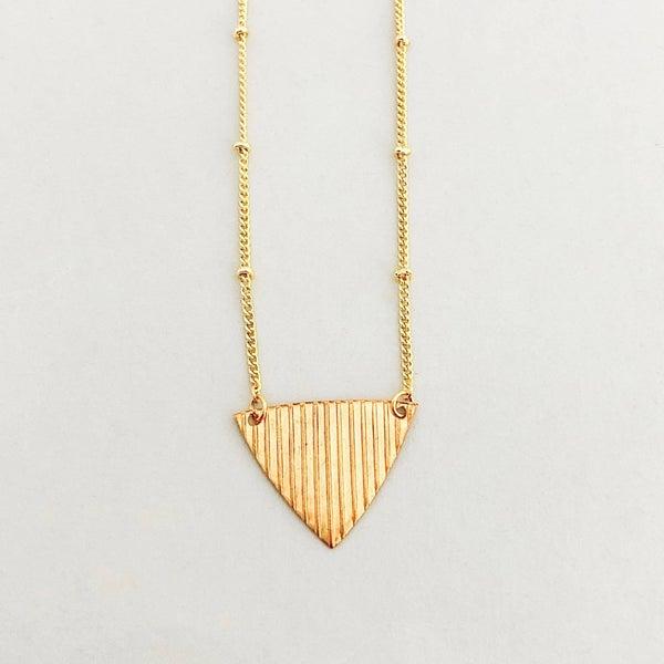 The Beljoy Triangle Necklace