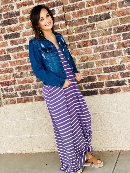 The STEAL Striped Lexie Maxi