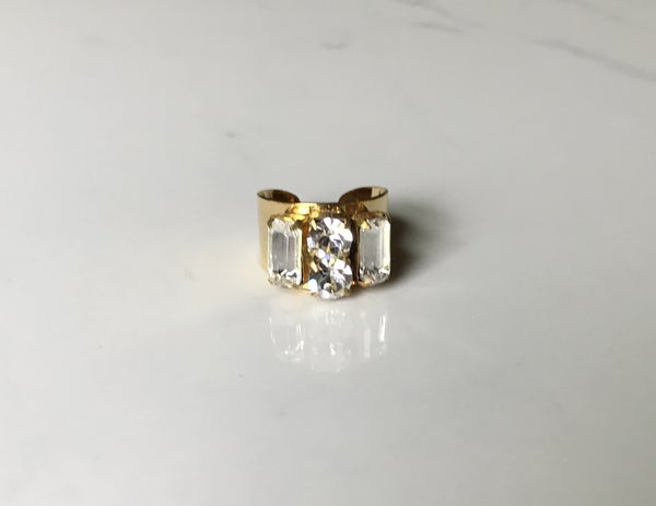 The Vintage Crystal Ring