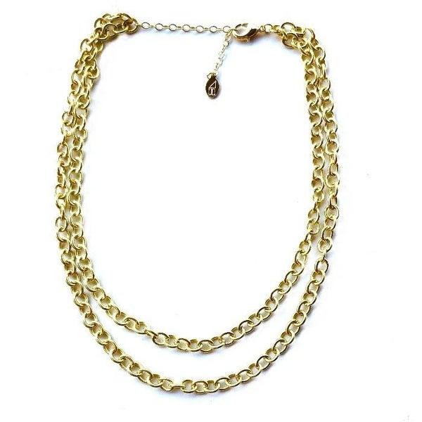 The Ella Double Chain Necklace