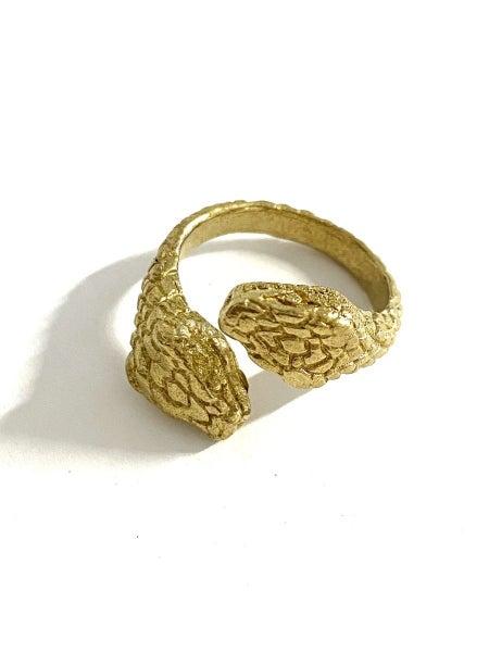 Jadu Snake Ring
