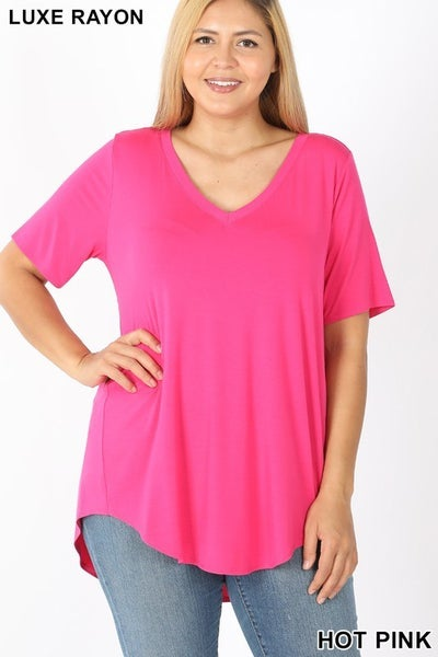 The STEAL CURVY Boss Tee-Lots of Colors