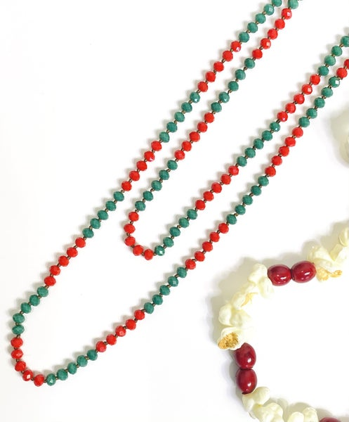 PF Steal #8 - The Red & Green Color Pop Necklace