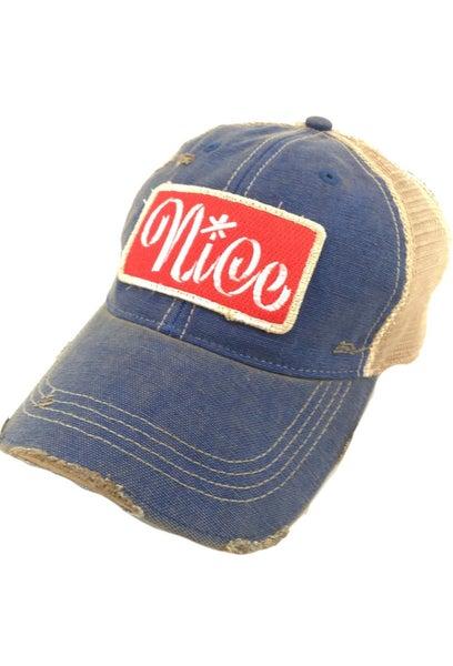 Blue Nice Hat