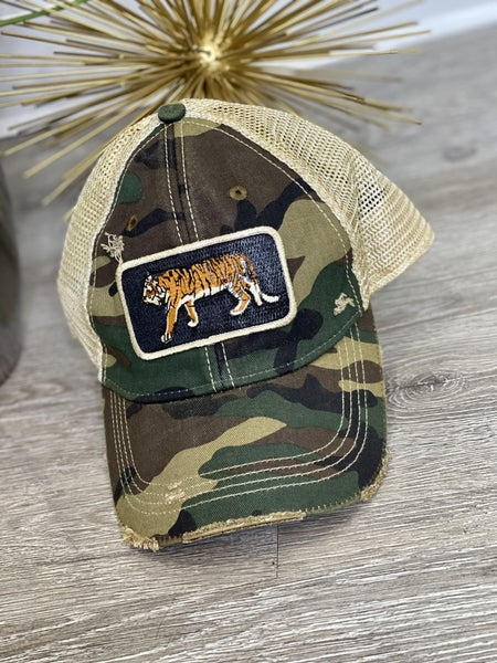 Camo Eye of the Tiger Hat