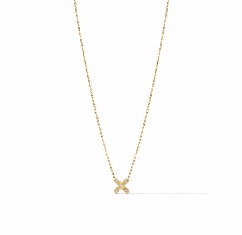 Paris X Necklace by JV