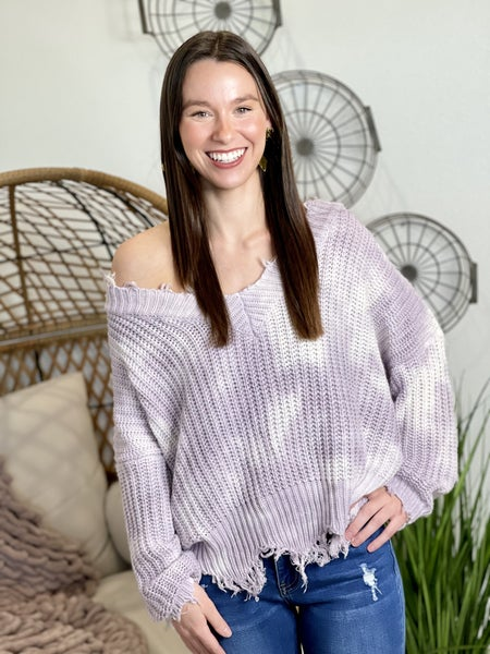 The Lavender Dreams Market Sellout Sweater