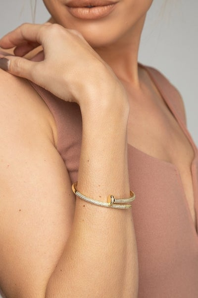 The Blinging Nail Cuff