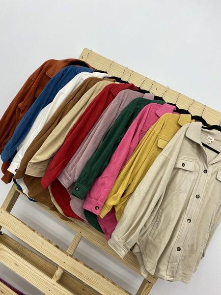 The Plush Shacket-11 Colors