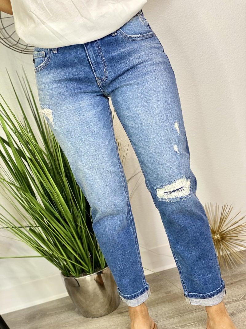 The Polished Boyfriend Jeans