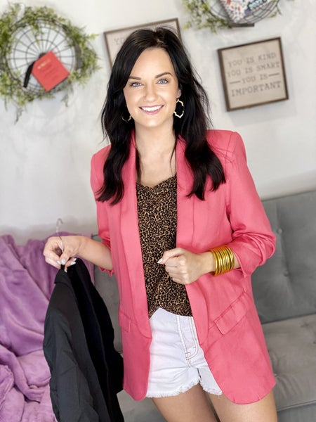 The Congeniality Blazer in 2 Colors - All Sizes