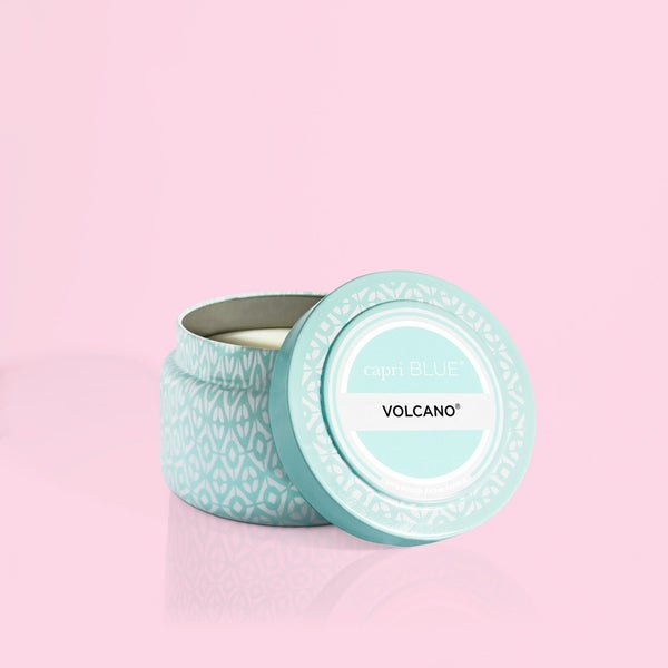 Volcano Aqua Travel Tin Candle