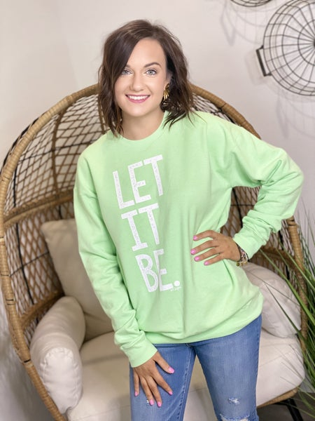 Let It Be Pullover