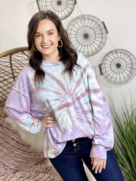 The Lilac Slub Pullover