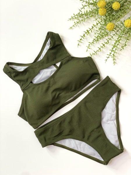 The Army Green Bikini