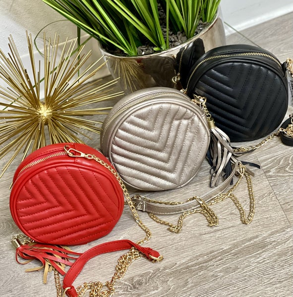 The Round Crossbody in 3 Colors