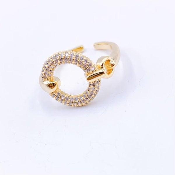 The Crystal Circle Ring