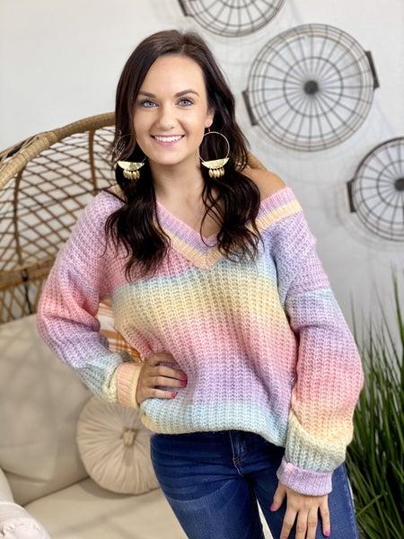 The Pastel Wish Sweater