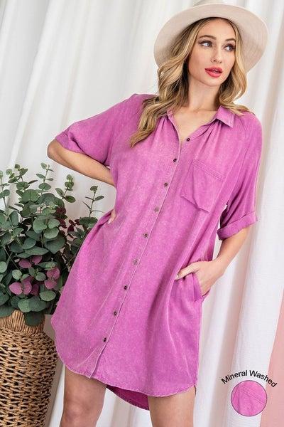 The Kaylee Button Dress