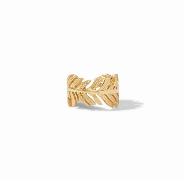 Fern Gold Ring by JV