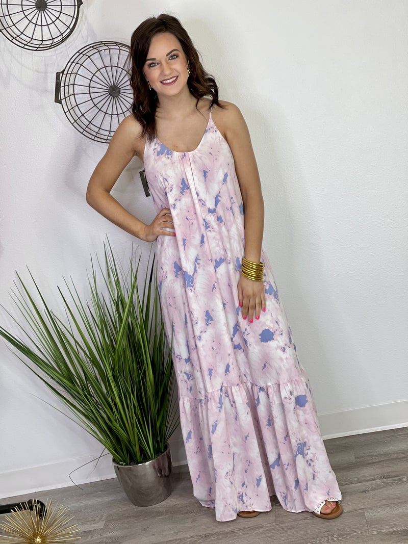 The Katey Wisteria Maxi
