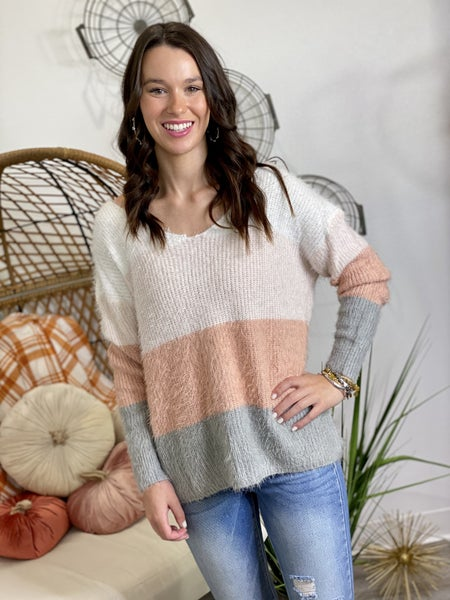The Cosmo Sweater in ALL Sizes
