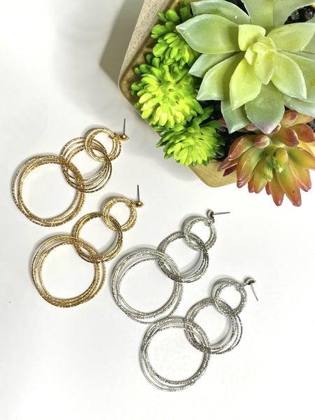 Surprise Steal-Linked Earrings-2 Colors
