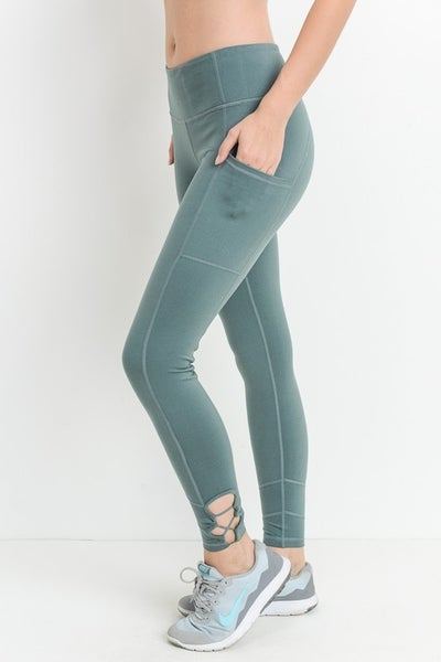 Mono B Criss Cross Leggings