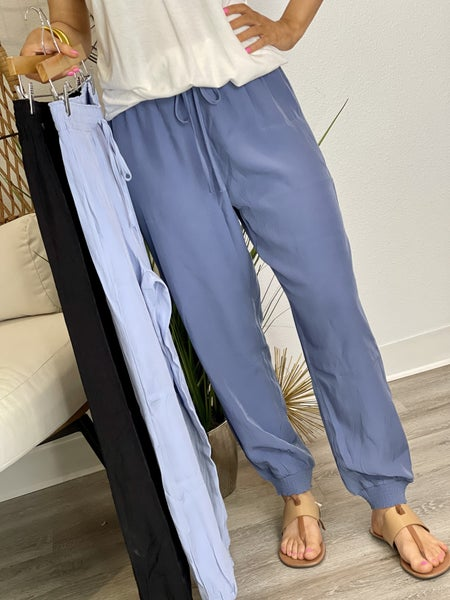 The Smocked Joggers in 3 Colors