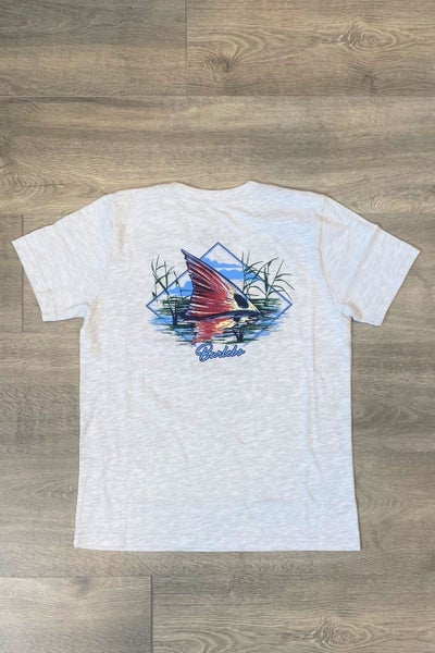 The Youth Redfish Fin Tee