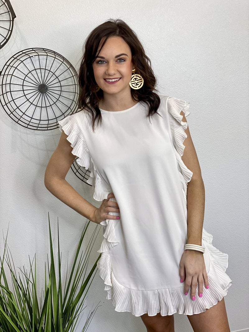 The Cocktail Dress in White