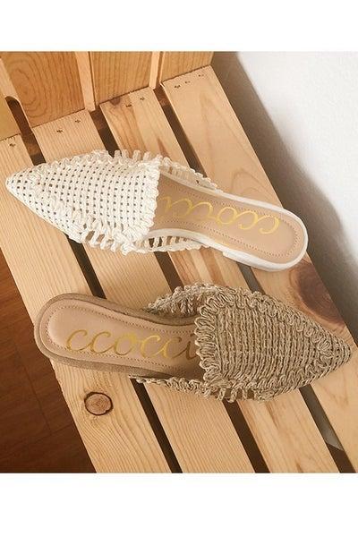 The Monaco Sandals - 2 Colors