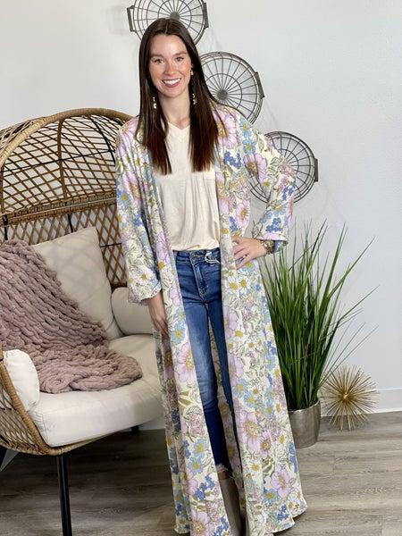 The Flower Power Kimono