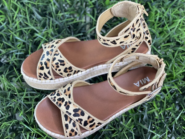 The Vita Espadrilles in Leopard