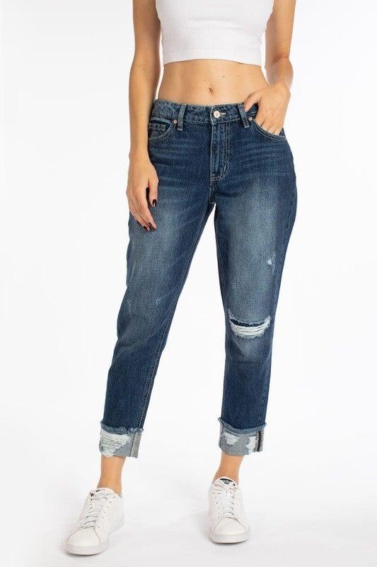 The Eva Boyfriend Jeans