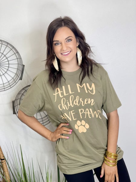 The All My Paws Tee - All Sizes