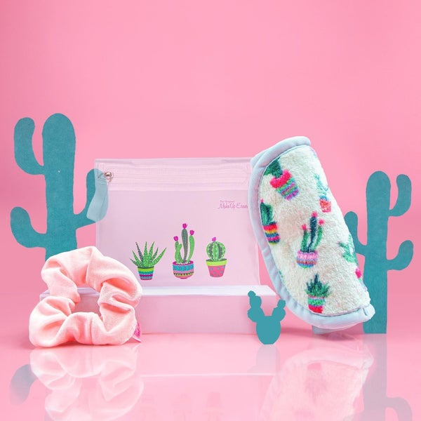 Cactus Makeup Eraser 3 PC Set