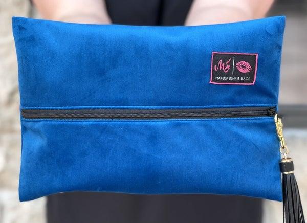 MJ Bags-Cobalt Velvet