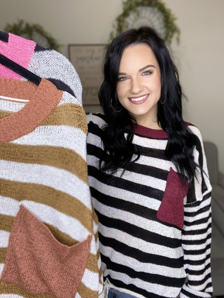 The Rubel Sweater in 3 Colors/AS