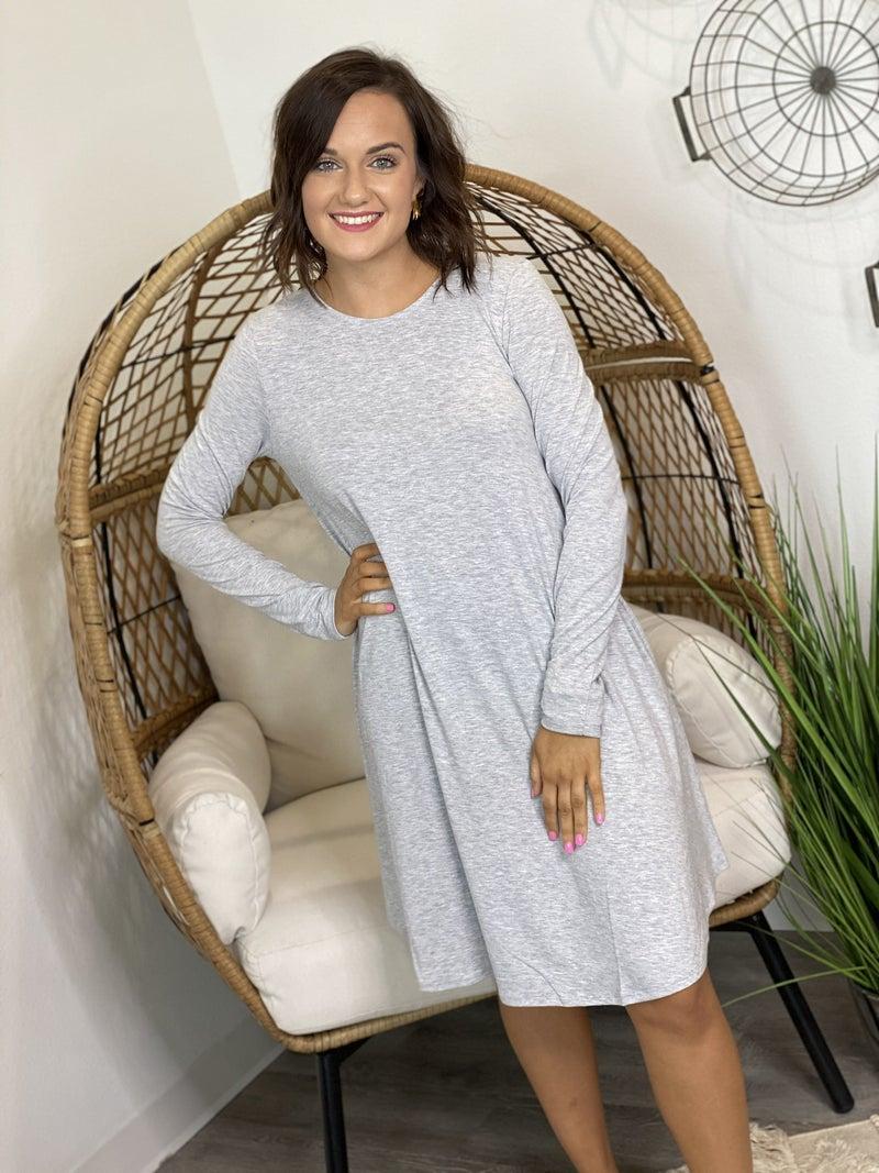 LD STEAL #17: LS TShirt Dress