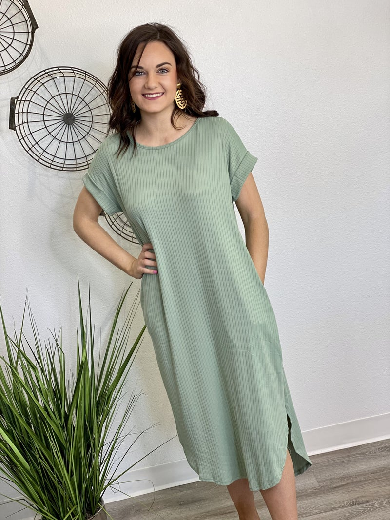 The Ribbed Maxi Dress - 3 Colors
