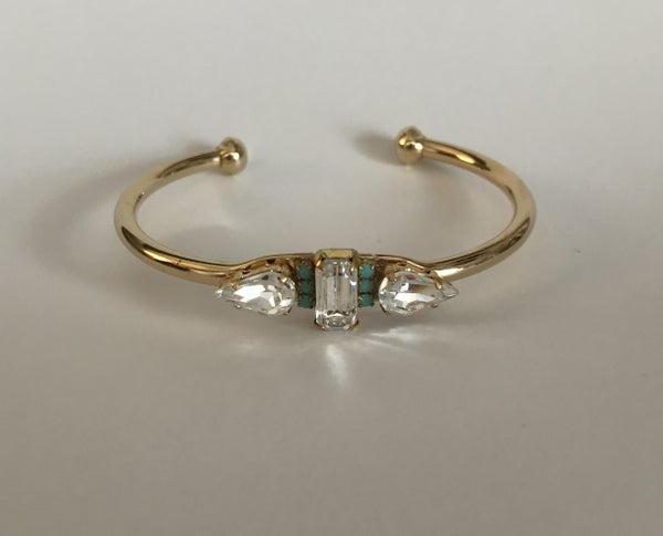 The Crystal Turquoise Cuff