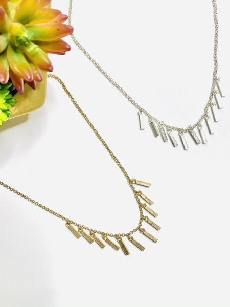 Surprise Steal-Everyday Bar Necklace