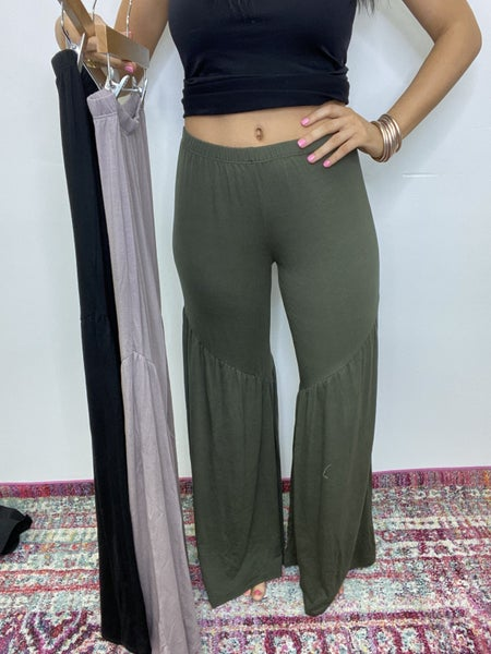 The Frill Pants in 3 Colors/All Sizes