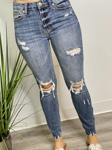 The Haney High Rise Skinnies